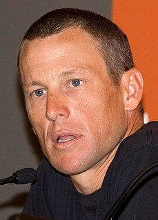 Lance Armstrong American cyclist