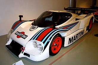 Lancia LC2 - A 1984 LC2 with revised bodywork