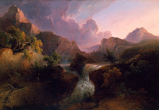 Landscape by Thomas Doughty, 1829, High Museum of Art