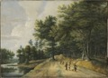 Landscape with a Road through a Wood of Beeches (Lucas van Uden) - Nationalmuseum - 18150.tif