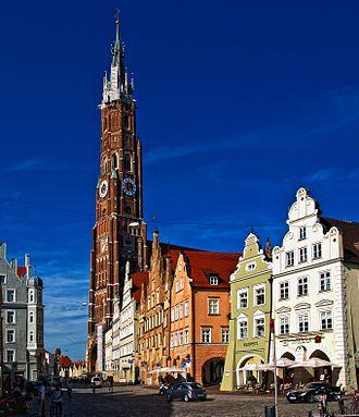 Landshut Wedding - The Cathedral of Landshut