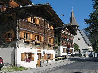Langwies Former municipality of Switzerland in Graubünden