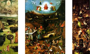The Last Judgment (Bosch triptych) - Image: Last judgement Bosch
