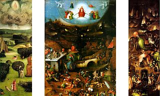 triptych by Hieronymus Bosch in der Akademie der Künste, Wien