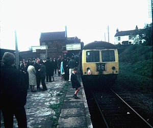 Great Central Railway - The last train at Rugby Central on 3 May 1969