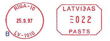 Latvia stamp type EE2B.jpg