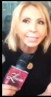 Laura Bozzo Peruvian talk show hostess