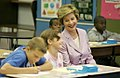 Laura Bush with children 2005.jpg