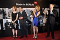 Laura Linney and Michael Grandage at the Berlinale party (25062458525).jpg