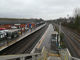 Lawrence Hill railway station Railway station in Bristol, England
