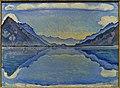 Le Lac de Thoune aux reflets symétriques (Ferdinand Hodler).jpg