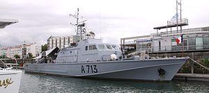 Maritime Gendarmerie - Image: Le patrouilleur Aramis