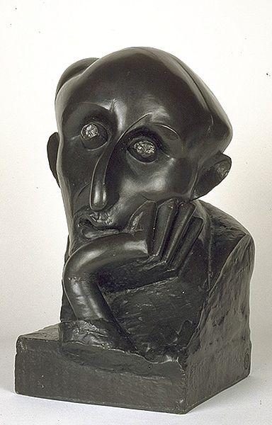 Fichier:Le peintre juif, Chana Orloff (1920) - Musée d'art et d'histoire du Judaïsme.jpg