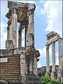 Le temple de Vesta et le temple des Dioscures (Forum Romain) (5983226995).jpg