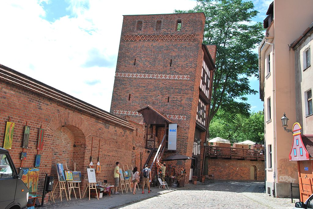 Leaning Tower in Toruń