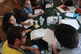 Learning Days Day 1, Wikimania 2016 Esino Lario pre-conference 29.jpg