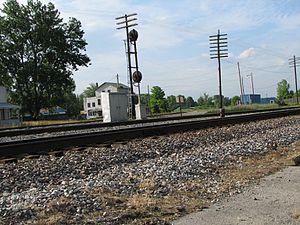 Lebanon Junction, Kentucky - CSX Main Line and the old Lebanon Branch