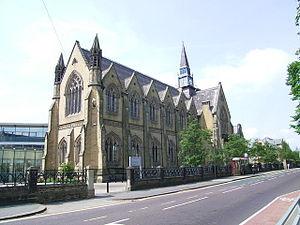 Leeds Grammar School - Woodhouse Moor site (now part of the University of Leeds)