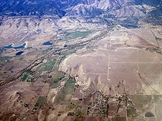 Left Hand Creek (Colorado) - Left Hand Creek and Canyon. Aerial photo by Doc Searls