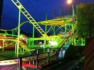 3 October Festival - The festival includes funfairs and rollercoaster rides