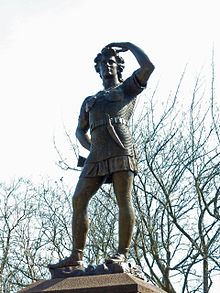 Leif Ericson statue in Milwaukee.JPG