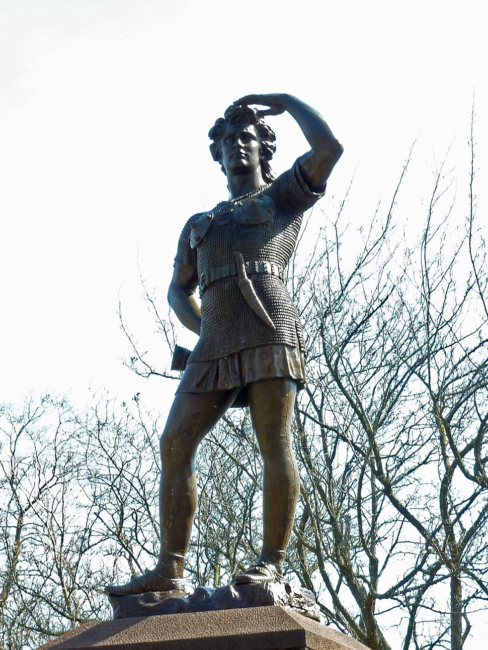 Leif Ericson statue in Milwaukee
