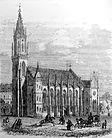 Südansicht um 1860