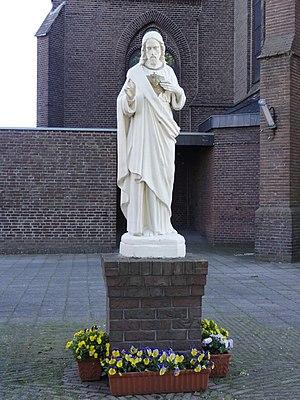 Nederlands: Lent (Nijmegen) H.Hartbeeld bij RK...