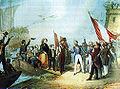 Leopoldo II sbarca a Viareggio.jpg