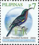 Leptocoma calcostetha 2009 stamp of the Philippines.jpg