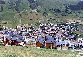 Les Deux Alpes in de zomer