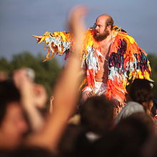 Les Savy Fav at the Eurockéennes 2011.
