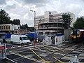 Level Crossing at Cosham Railway Station - geograph.org.uk - 613088.jpg
