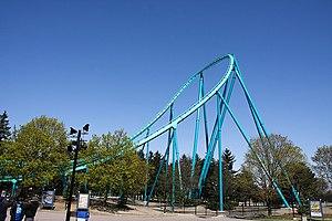 Bolliger & Mabillard - Leviathan at Canada's Wonderland, a Hyper Coaster model