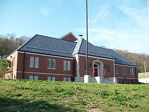 National Register of Historic Places listings in Mifflin County, Pennsylvania - Image: Lewistown Armory Apr 10