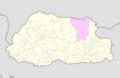 Lhuntse Bhutan location map.png
