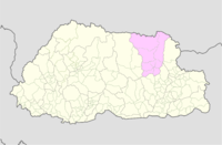 Lhuntse Bhutan location map.png