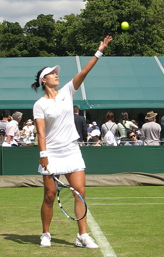 Li Na - Li Na at the 2008 Wimbledon Championships
