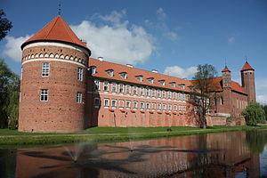 Lidzbark Warmiński - Image: Lidzbark Warmiński Zamek Biskupów Warmińskich 001