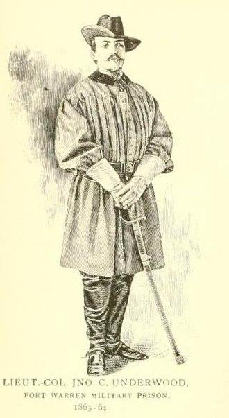 John C. Underwood - Lieutenant Colonel John Cox Underwood