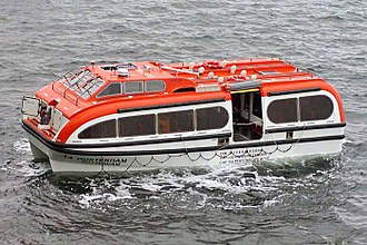 Ship's tender - Image: Lifeboat tender