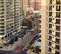 Light rail through Surfers Paradise (25747511012).jpg