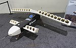 Lightning Strike unmanned aerial vehicle with electric distributed propulsion - D60 Symposium - Defense Advanced Research Projects Agency - DSC05528.jpg