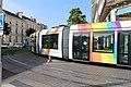 Ligne A Tramway boulevard Foch rue Alsace Angers 5.jpg