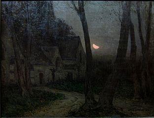 Paysage de nuit (vue d'Englos-lez-Lille)