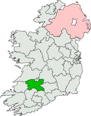 Limerick (Dáil Éireann constituency) - Image: Limerick Dáil constituency 2011