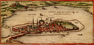 Lindau - Lindau in the 16th century