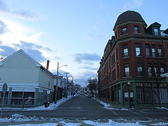 National Register of Historic Places listings in New Bedford, Massachusetts - Image: Linden Street, New Bedford MA