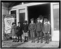 Line of children found in a penny arcade at 1-30 P.M. As many of the schools in Schenectady run on half-time they are... - NARA - 523282.tif