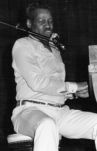 Little Willie Littlefield - Littlefield performing at Saint-Ouen-l'Aumône, France, in 1980
